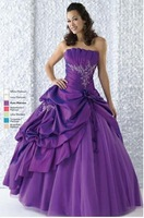 Elegant ball gown off shoulder quinceanera prom evening dress