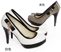 free shipping 2012 NEW high heel  winter  fashion  women dress boots P996 Hot sell size 30-43