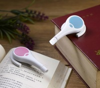 Mixed Color wholesale Creative Bluetooth ear style LED reading lamp +DIY Night light