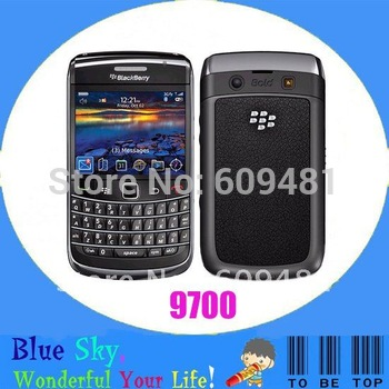 Swiss post free shipping blackberry bold 2 9700 original mobile phone with PIN unlocked Refurbished