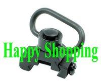 QD Quick release push stud sling swivel mount fit 20mm ris ras rail Black free shipping