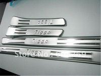 2012 wholesale Chery tiggo usher footboard/ special threshold / modified pedal board/car pedal