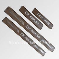 2012 wholesale  Skoda Octavia usher footboard/car pedal/usher footboard/modified pedal