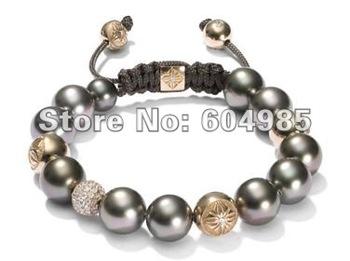 Shamballa stlye Bracelets Wholesale, free shipping, New Shamballa Bracelets crystal Micro Pave CZ Disco Ball Bead CPX61