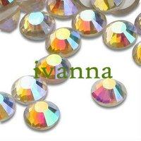 free shipping hot fix DMC rhinestone crystal ab  rhinestone ss20 5mm