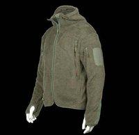 Shag Master Mountain Hoodie Men Outdoor Plush Hunting Camping Coats(EMS 45%)Black Green Desert S M L XL