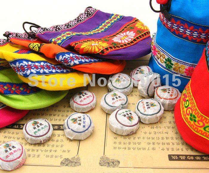 Wholesale! Freeshipping 300g Flavor Pu er Tuo Cha,Pu erh , Puer tea, Puerh Tea 70pcs 10 Kinds(China (Mainland))