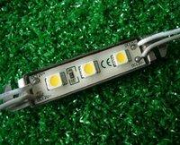 5050 SMD LED Module 3 pieces LED;DC12V input,20pcs a string;50mm*12mm size