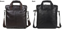 Russian style+100% Genuine leather men handbags+designer business leather men bag+Wholesale&Retail+Free Shipping