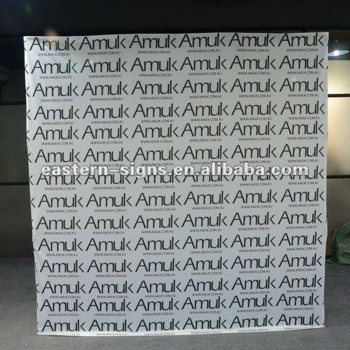 8ft Flat Fabric Pop Up System(China (Mainland))