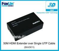 single UTP cable(Cat5E/6) cable achieve 50m transmission