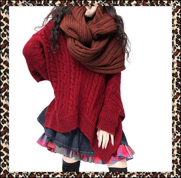 DEMONSTYLELadysscarfwomensneckwarmerwrapB09500jpg Fashion Neck Scarves For Women