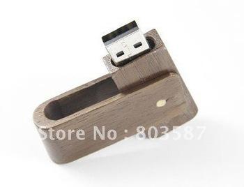 Swivel Wooden USB Flash Pen Drive 1GB 2GB 4GB 8GB 16GB 32GB 64GB