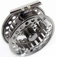 New free shipping,  fishing,A95,aluminum,Raft/Ice/Fly fishing reel, 5 colors