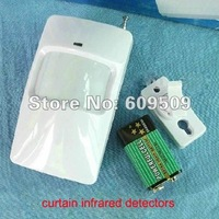 wireless PIR detector , wireless infrared detector ,wireless PIR sensor,Free shipping