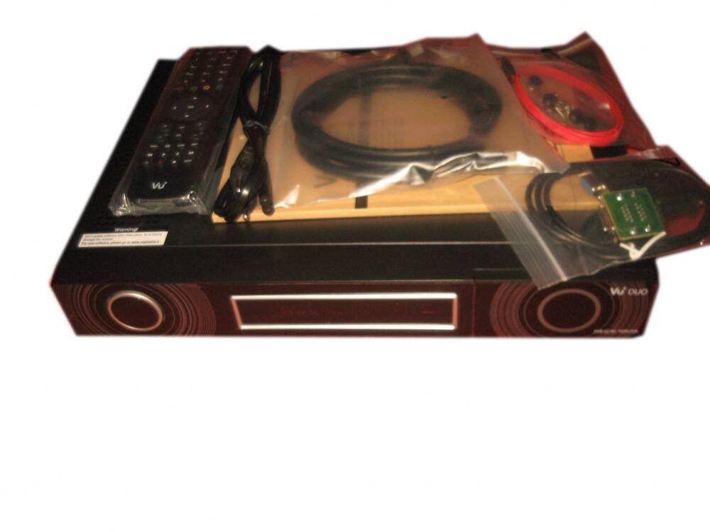 VU+ Duo HD twin satellite receiver Twin tuner Linux TV APIs Free shipping(China (Mainland))