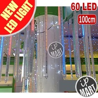 FREE SHIPPING!!! 100cm 60 LEDs/tube LED Meteor Rain Light Christmas Lights Lamp LED Snowfall Tube 20pcs/lot (IP-LML05) [IP-mart]