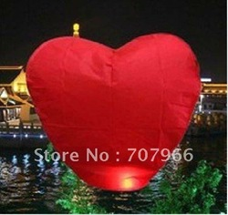 20pcs Sky Lantern,biodegradable wishing Lantern,Sky light Lantern,kongming fire retardant Paper Lantern(China (Mainland))
