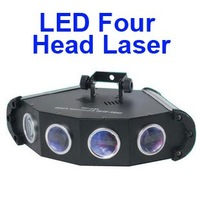 3pcs/lot Laser DJ lighting 4Heads For Club Stage Party Disco KTV with LED and RGB OA-010 EMS free HXB0138