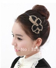 wholesale gold hair fascinator