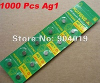 Lots of 1000 Pcs Sealed AG1 SR621 SR60 LR621 SR621 SW 364 Battery