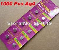 Lots of 1000 Pcs Sealed AG4 377 LR626 SR66 377a Watch  Battery
