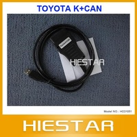 Top Quality ty Toyota K+CAN Commander2.0 for Toyota cars Odometer correction free shipping