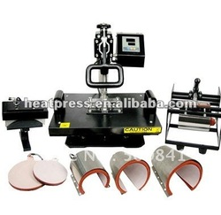 thermal combo heat press HP8IN1,heat press machine for sublimation plate,sublimationmug,tshirt,sublimation mouse pad(China (Mainland))