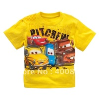 New children's T-SHIRT boys & girls short sleeve Shirt/ Wholesale 10pcs per lot; 5 sizes;Free shipping