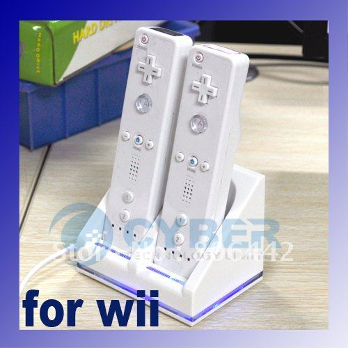 Nunchuk Remote Controller GAME Blue for Nintendo Wii Free Shipping