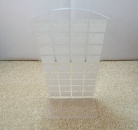{Free shipping}hot sale acrylic earring display rack stand