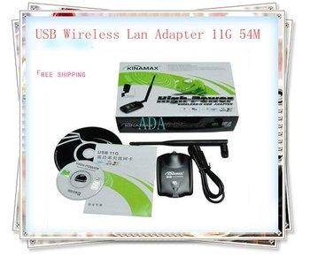 High power USB wlan 11G 54M/500mW /USB Wireless Lan with wifi Adapter 11G 54M