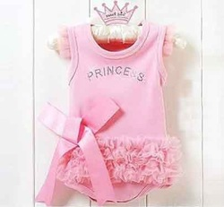Princess Baby girls Rompers,Kids bodysuits 6pcs/lot Free shipping(Hong Kong)