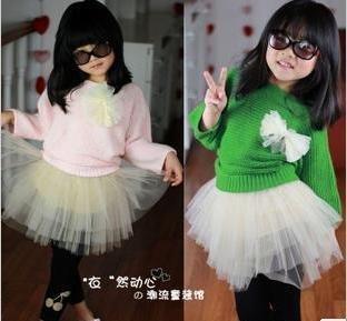 2012 Freeshipping  girls dress, cotton dress,beautiful girls clothes, kids clothing, children dress