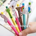 Free Shipping 42PCS/Lot Wholesale Cartoon Animal Ballpoint Pens;Ball Pen;Kids Pens;Office Stationery;Promotion Pens