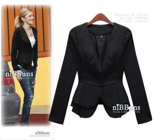 Black Dress Jacket