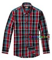 Hot selling New Fashion  Mens Casual Shirts Slim Fit Stylish Mens Dress grillwork men shirts SizeM-XXL