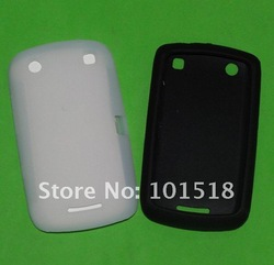 Free shipping&amp;10pcs/lot New Silicone Skin Cover Case for BlackBerry Curve 9380(China (Mainland))