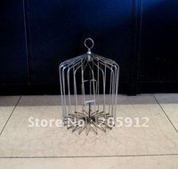 The medium silver birdcage/stage magic /magic toys/48%discount EMS