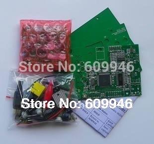 Educational electronic DIY Kit Pocket LCD Digital Storage Mini Oscilloscope DSO062/AVR development board