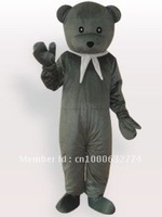 Bear Short Plush Adult Mascot Costume Adult Character Costume Cosplay mascot costume free shipping