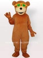 Glasses Wearing Bear Adult Mascot Costume Adult Character Costume Cosplay mascot costume free shipping