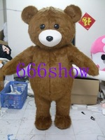 New brown bear mascot costume Christmas Adult Cartoon