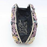 Luxurious Panther Deer Tiger Clutch Evening Bag Purse Handbag animals Sexy Handbag