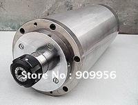 1pcs Water Cooled 1.5kw Spindle Motor / Collet ER11 / 3pcs Bearing / CNC Engraving Milling +1pcs 1.5kw VFD / Interver