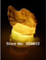 Zodiac Dragon Hot Selling LED Colorful Gradient Night Light 10pcs/lot