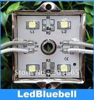 Free Shipping Waterproof SMD LED Module, 4 SMD 3528 LED Moudle DC12V [ LedBluebell ]