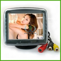 "3.5""  inch TFT  Monitor  Color  Car  LCD Mirror   Screen for Car Reverse Camera"