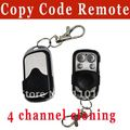 Top selling!! 4 channel universal remote control duplicator Copy Code Remote 433 mhz  learning garage door opener free shipping