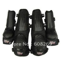 Free shipping! Wholesale Motorcycle protector kneepad elbow free outdoor sports four piece set